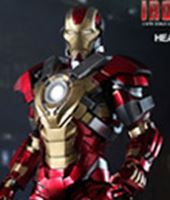 Imagen de Iron Man 3 Figura Iron Man Mark 17 Heartbreaker
