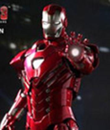 Imagen de Iron Man 3 Figura Iron Man Mark XXXIII Silver Centurion