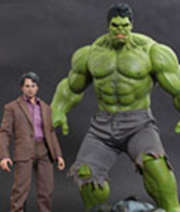 Imagen de Los Vengadores Pack de Figuras Bruce Banner & Hulk