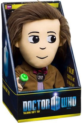 Imagen de Doctor Who Peluche con sonido y luz 11th Doctor 23 cm