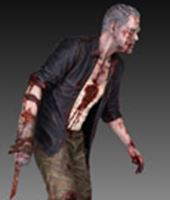 Foto de The Walking Dead Estatua 1/4 Merle Dixon Walker 41 cm