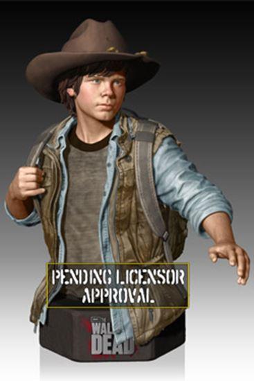 Foto de The Walking Dead Busto 1/6 Carl Grimes