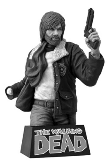 Foto de The Walking Dead Hucha Rick Grimes Black & White 20 cm