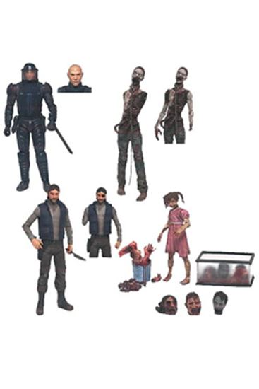 Foto de The Walking Dead Comic Version Serie 2 Caja de 12 Figuras 15 cm