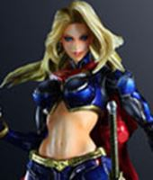 Imagen de DC Comics Variant Play Arts Kai Vol. 3 Figura Supergirl