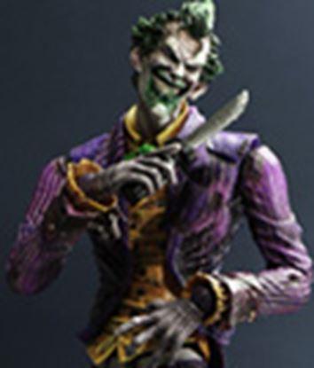 Imagen de Batman Arkham City Play Arts Kai Figura Joker