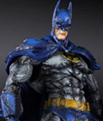 Imagen de Batman Arkham City Play Arts Kai Figura Batman 1970s Batsuit Skin