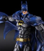 Foto de Batman Arkham City Play Arts Kai Figura Batman 1970s Batsuit Skin