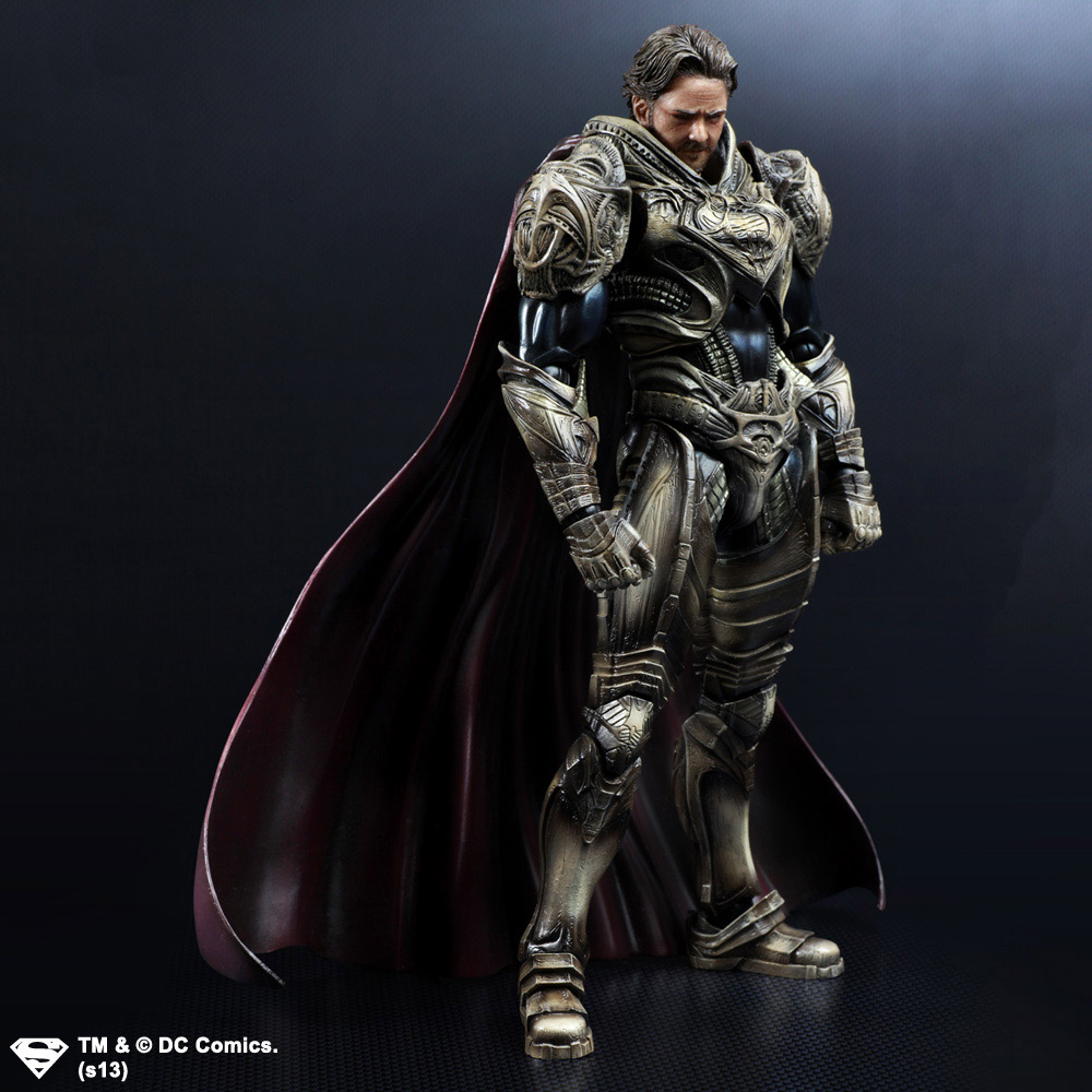 Imagen de Man Of Steel Play Arts Kai Figura Jor-El