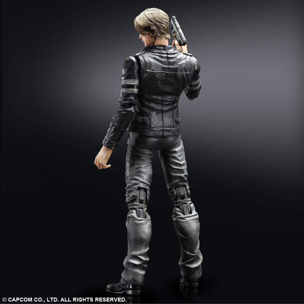 Imagen de Resident Evil 6 Play Arts Kai Figura Leon S. Kennedy