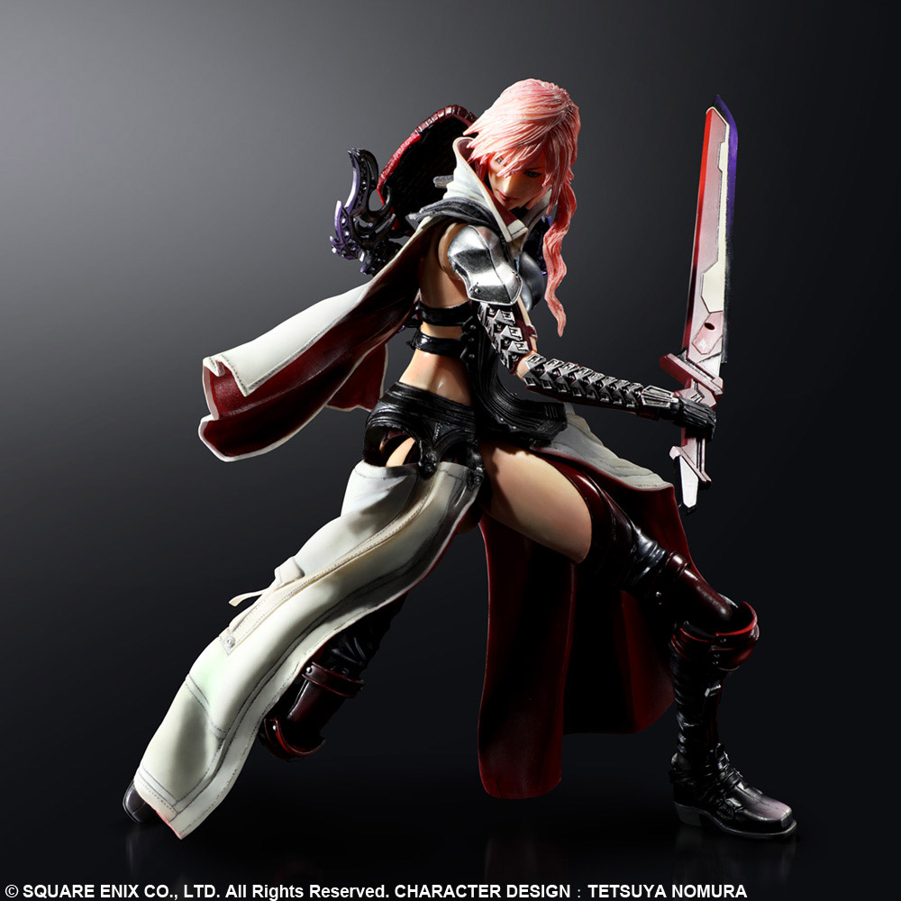 Imagen de Lightning Returns: Final Fantasy XIII Play Arts Kai Figura Lightning