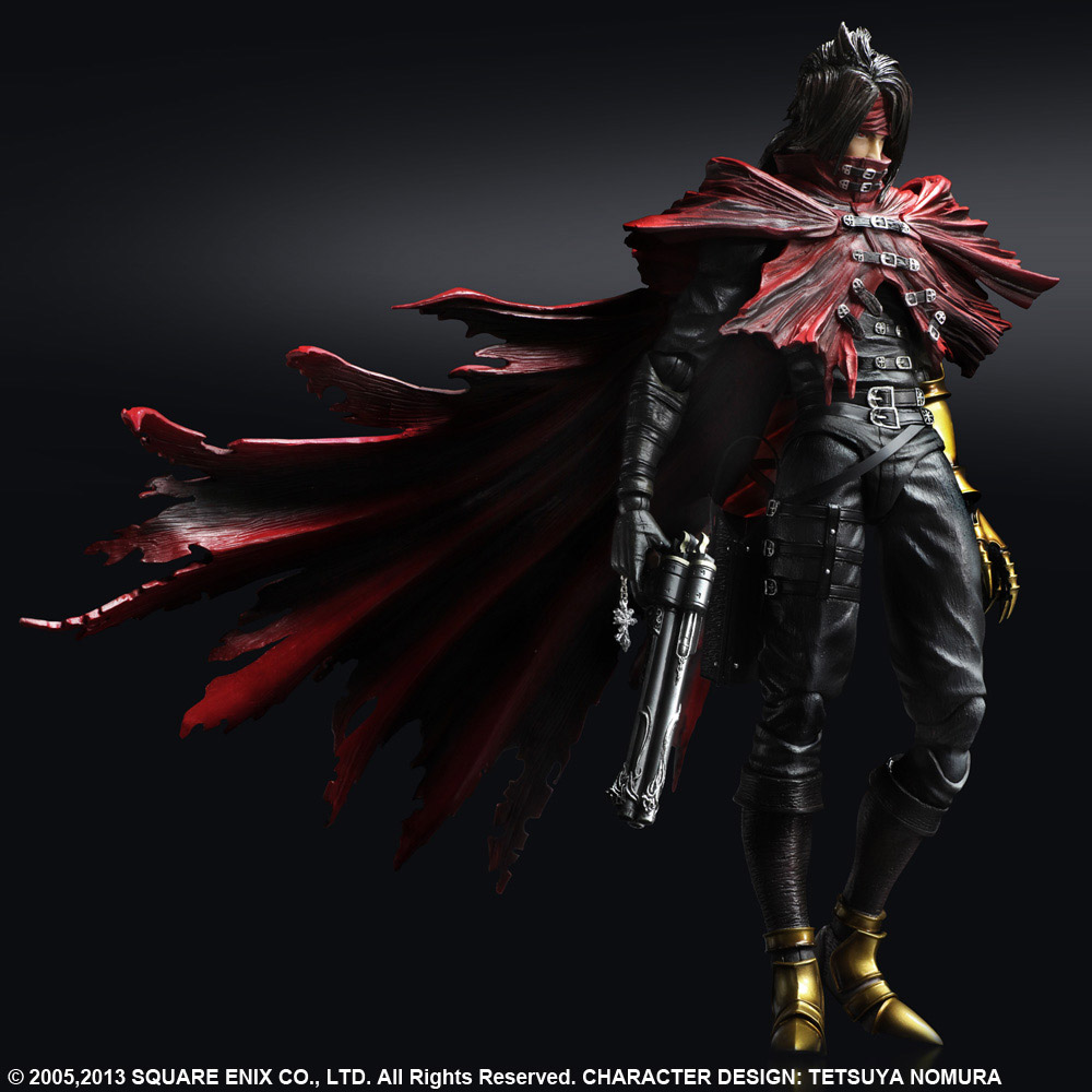 Imagen de Final Fantasy VII Play Arts Kai Figura Vincent Valentine