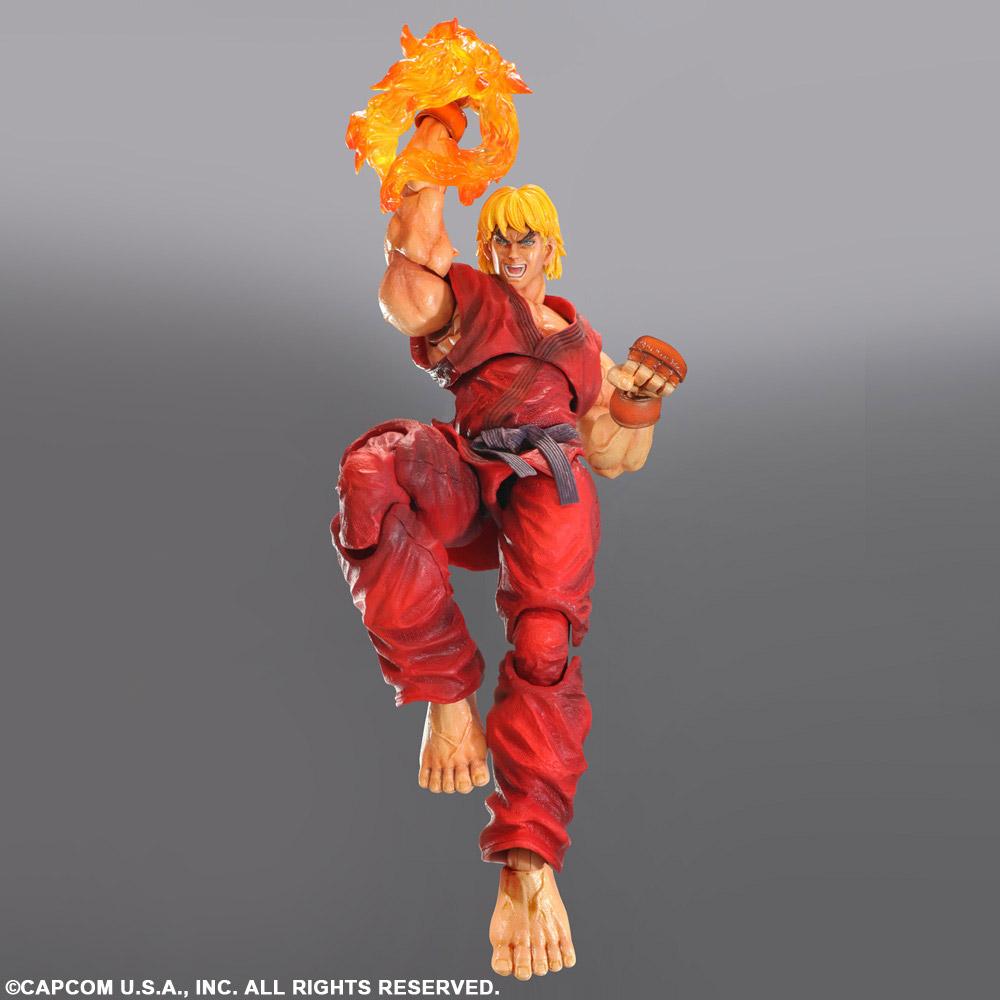 Imagen de Super Street Fighter IV Play Arts Kai Vol. 4 Ken