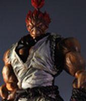 Imagen de Super Street Fighter IV Play Arts Kai Vol. 2 Figura Akuma White Ver. Exclusive