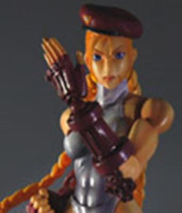 Imagen de Super Street Fighter IV Play Arts Kai Vol. 1 Vol. 2 Figura Cammy White Ver. Exclusive