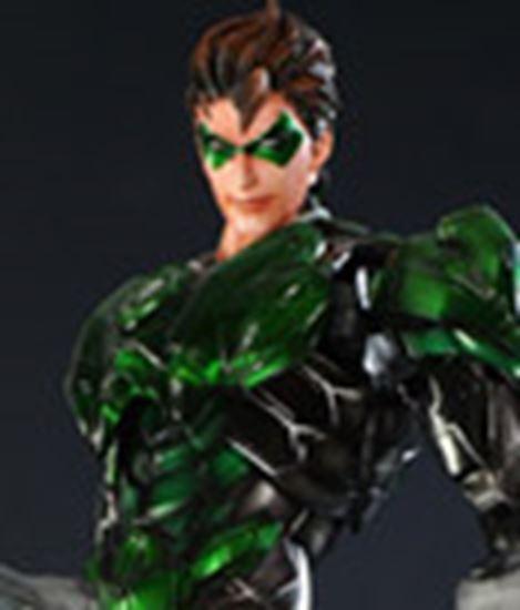 Foto de Dc Comics Variant Play Arts Kai Figura Green Lantern