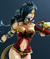 Foto de Dc Comics Variant Play Arts Kai Figura Wonder Woman