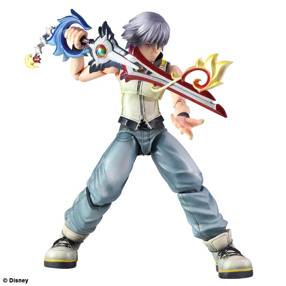 Imagen de Kingdom Hearts 3D Play Arts Kai Figura Riku