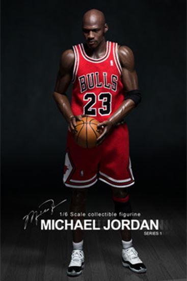 Foto de NBA Collection Figura Real Masterpiece 1/6 Michael Jordan (Road Edition)
