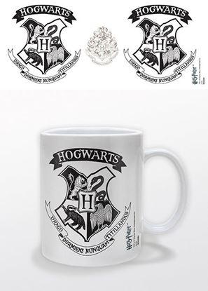 Imagen de Harry Potter Taza Hogwarts Crest Black