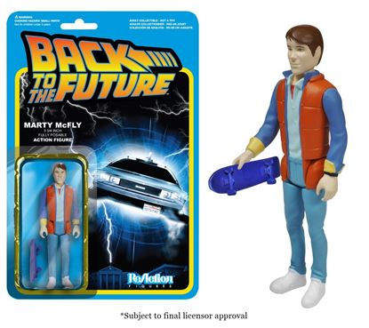 Imagen de FIGURA REACTION BACK TO FUTURE MARTY MCFLY