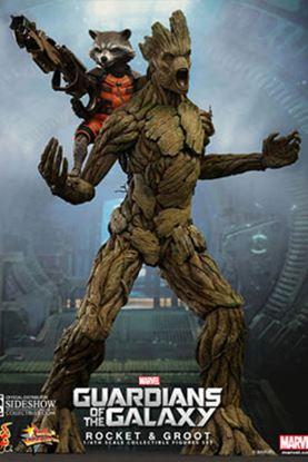 Imagen de Guardianes de la Galaxia Pack de 2 Figuras Rocket & Groot