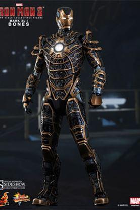 Imagen de Iron Man 3 Figura Iron Man Mark XLI Bones