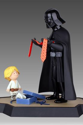 Imagen de Star Wars Maquette Darth Vader and Son