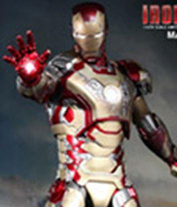 Imagen de Iron Man 3 Figura MMS Diecast Iron Man Mark XLII