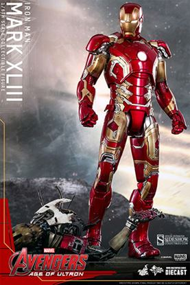 Imagen de Vengadores La Era de Ultrón Figura MMS Diecast Iron Man Mark XLIII