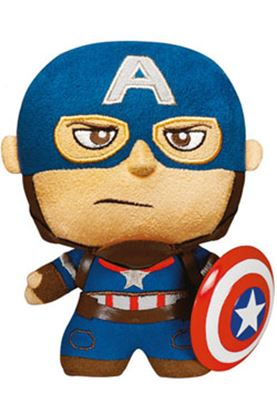 Imagen de Los Vengadores 2 La Era de Ultrón Fabrikations Peluche Captain America 15 cm