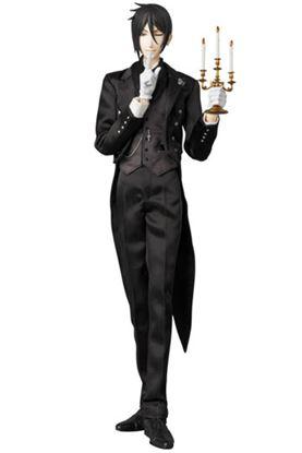 Imagen de Black Butler Book of Circus Figura RAH 1/6 Sebastian Michaelis 30 cm