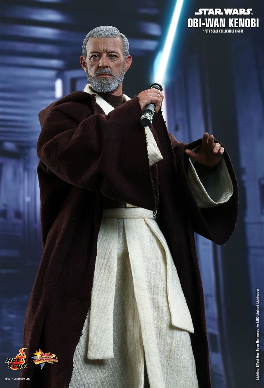 Imagen de Star Wars Figura Movie Masterpiece 1/6 Obi-Wan Kenobi 30 cm