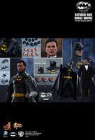 Imagen de Batman Vuelve Pack de 2 Figuras Movie Masterpiece 1/6 Batman & Bruce Wayne 32 cm