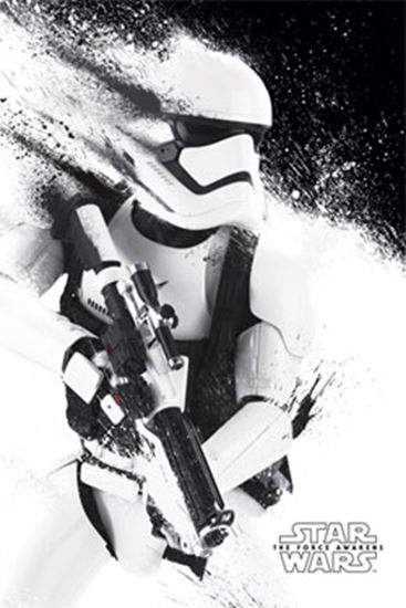 Foto de Stormtrooper Paint 61 x 91 cm