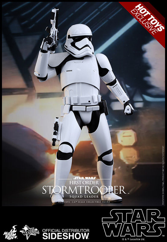 Imagen de Star Wars Episode VII Figura MMS 1/6 First Order Stormtrooper Squad Leader Exclusive 30 cm