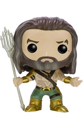 Imagen de Batman v Superman POP! Heroes Vinyl Figura Aquaman 9 cm