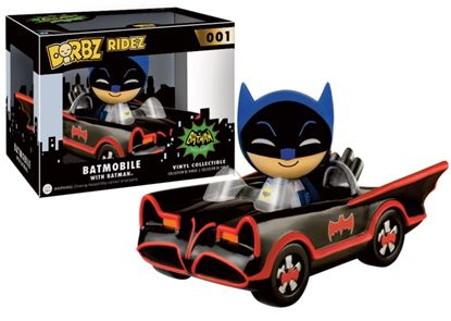 Imagen de Dorbz Ridez: Batman - '66 TV Batmobile with Batman