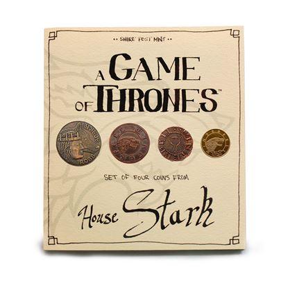 Imagen de Juego de Tronos Set de Monedas House Stark
