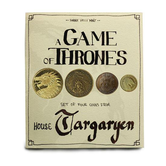 Foto de Juego de Tronos Set de Monedas House Targaryen
