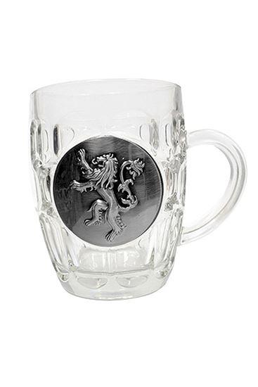Foto de Juego de Tronos Jarra de cerveza Lannister Metallic Logo
