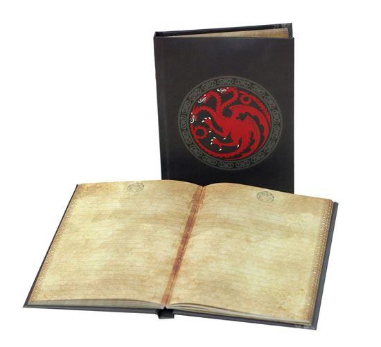Foto de Juego de Tronos Libreta con luz Targaryen