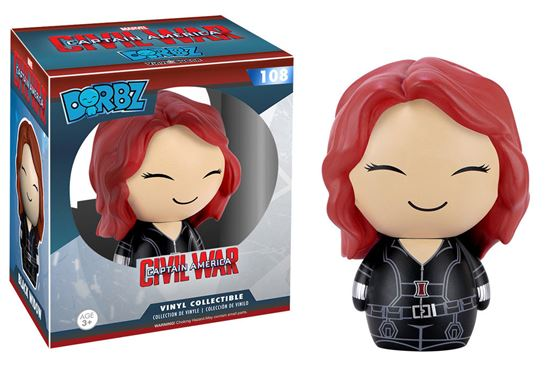 Foto de Captain America Civil War Vinyl Sugar Dorbz Vinyl Figura Black Widow 8 cm