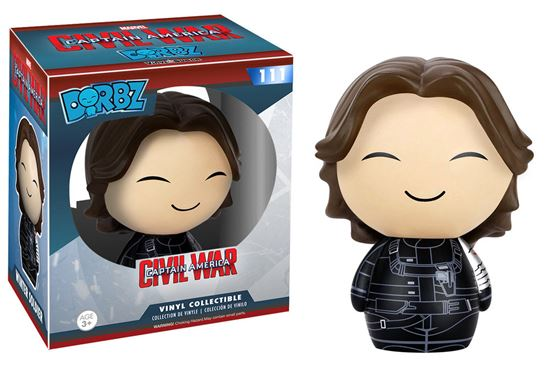 Foto de Captain America Civil War Vinyl Sugar Dorbz Vinyl Figura Winter Soldier 8 cm