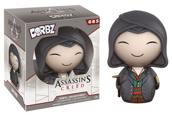 Foto de Assassin's Creed Vinyl Sugar Dorbz Vinyl Figura Jacob 8 cm