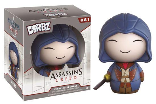 Foto de Assassin's Creed Vinyl Sugar Dorbz Vinyl Figura Arno 8 cm