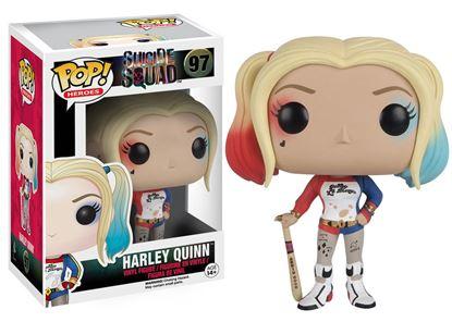 Imagen de Escuadrón Suicida POP! Heroes Vinyl Figura Harley Quinn 9 cm