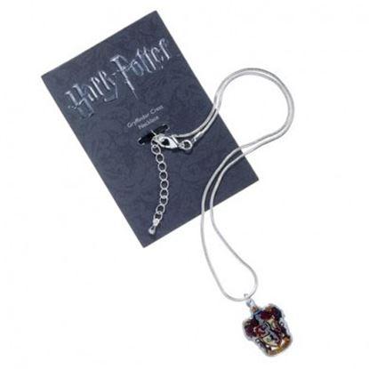 Imagen de Harry Potter Collar con Colgante Gryffindor Crest (plateado)