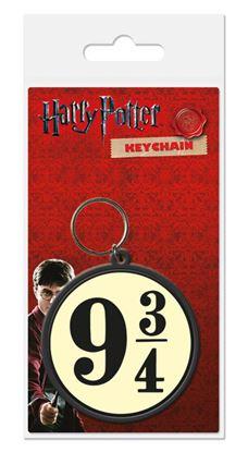 Imagen de Harry Potter Llavero caucho 9 3/4 6 cm
