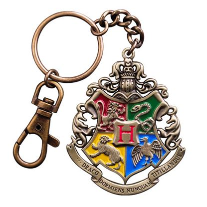 Imagen de Harry Potter Llavero metálico premium Hogwarts 5 cm